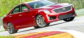 2016 Cadillac CTS-V: Первый тест-драйв