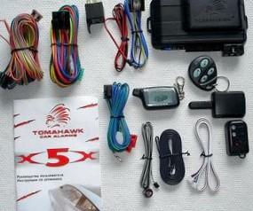 Автосигнализация Tomahawk X5. Основные характеристики