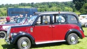 Британский рынок такси в период с 1916 по 1936 года.
