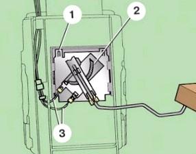 Датчик уровня топлива и его ремонт