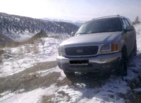 Ford Expedition 2005 г.в. (Царь болота)