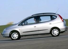 Характеристика автомобиля Chevrolet Tacuma