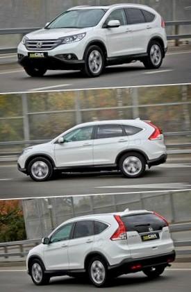 Honda CR-V 2.4: Для истинных ценителей
