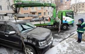 Эвакуация грузовиков в Москве будет стоить 30 тыс. рублей