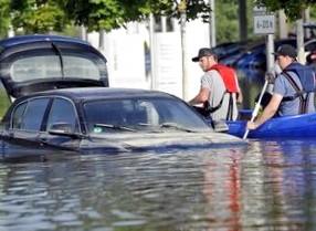 Как не купить автомобиль, побывавший в воде во время наводнения