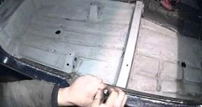 Как отремонтировать днище авто собственными руками
