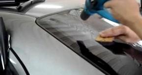 Как самостоятельно сделать тонировку стекол авто