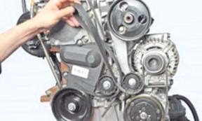 Когда и как менять ремень генератора?