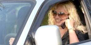 Когда за рулем водитель женщина