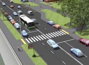 Крайние правые полосы могут отдать под парковки