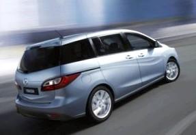Mazda 5: Каракури и zoom-zoom