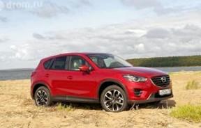 Mazda CX-5 2.5: Новые ощущения