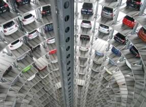 Место на механизированной парковке можно будет забронировать
