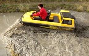 Мини танк для езды по бездорожью: Тест-драйв вездехода Tinger Track