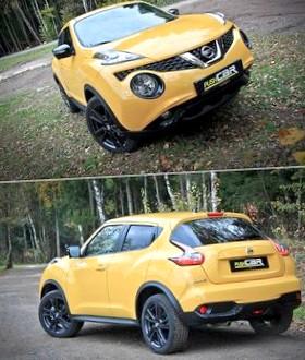 Nissan Juke: Позитивно желтый