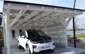 Новый BMW будет заряжаться от солнца
