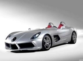 Новый Mercedes-Benz SLR – чистая скорость