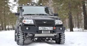 Обновленный отечественный автомобиль УАЗ Патриот