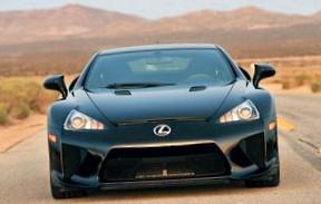 Обзор суперкара Lexus LFA