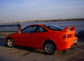 Отзыв об автомобиле Акура Интегра (Acura Integra), 1,8-L , седан, МКПП, 1995 г.в.