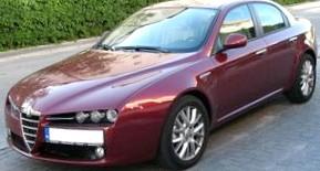 Отзыв об автомобиле Alfa Romeo 159 (Альфа Ромео 159), 3,2-L, седан, МКПП, 4WD, 2007 г.в.