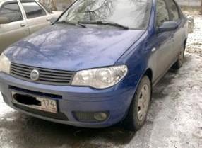 Отзыв об автомобиле FIAT Albea( ФИАТ Альбея), 1,4-L, МКПП, седан, 2008 год.