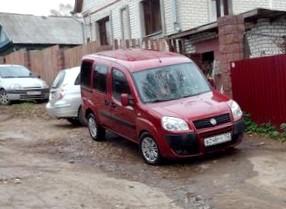Отзыв об автомобиле FIAT Doblo (ФИАТ Добло), 1,4-L, МКПП, универсал
