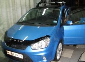 Отзыв об автомобиле FORD C-Max (ФОРД Си-Макс), 2,0-L, АКПП, минивэн, 2008 год