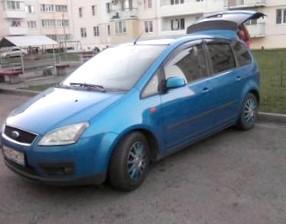 Отзыв об автомобиле FORD C-Max (ФОРД Си-Макс), 2,0-L Duratec-HE, МКПП, минивэн, 2007 год
