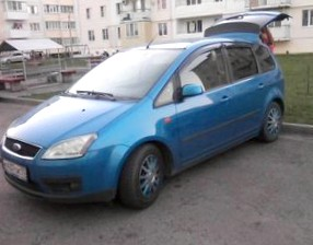 Отзыв об автомобиле FORD C-Max (ФОРД Си-Макс), 2,0-L, АКПП, минивэн, 2006 год