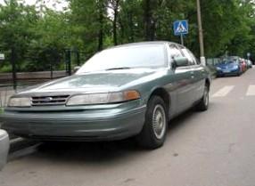Отзыв об автомобиле FORD CROWN Victoria (ФОРД Краун Виктория), 4,6-L , седан, АКПП, 1993 г.в.