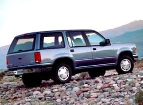 Отзыв об автомобиле FORD Explorer (ФОРД Эксплорер), 4,0-L, МКПП, внедорожник (SUV), 1994 год