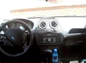 Отзыв об автомобиле FORD Fiesta (ФОРД Фиеста), 1,4-L , АКПП(вариатор), хэтчбэк, 2006 год