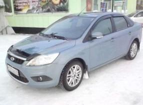 Отзыв об автомобиле FORD Focus (ФОРД Фокус), 1,6-L, МКПП, седан, 2008 год