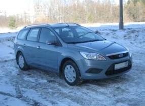 Отзыв об автомобиле FORD Focus (ФОРД Фокус), 1,6-L, МКПП, универсал, 2005 год