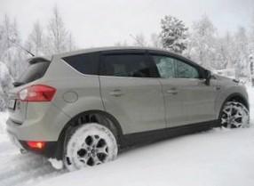 Отзыв об автомобиле FORD Kuga (ФОРД Куга), 2,,0-L TDi, кроссовер (SUV), 4WD, 2008 год,