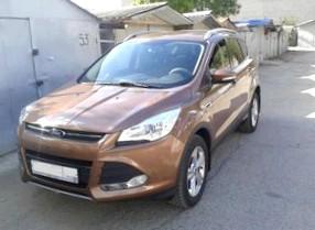 Отзыв об автомобиле FORD Kuga (ФОРД Куга), 2,0-L Diesel, кроссовер (SUV), МКПП, 4WD, 2008 год,