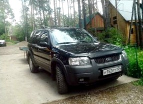 Отзыв об автомобиле FORD MAVERICK  (ФОРД Маверик), 3,0-L , SUV, АКПП, 4WD, 2006 г.в.