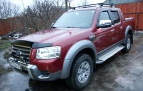 Отзыв об автомобиле FORD RANGER  (ФОРД Рэйнджер), 2,5-L Дизель, пикап, МКПП, 4WD, 2007 г.в.