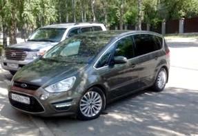 Отзыв об автомобиле FORD S-MAX  (ФОРД С-Макс), 1,8-L TD,минивэн, МКПП, 2006 г.в.