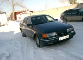 Отзыв об автомобиле FORD SCORPIO  (ФОРД Скорпио), 3,0-L, седан, МКПП, 4WD!!!, 1990 г.в.