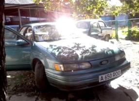 Отзыв об автомобиле FORD TAURUS  (ФОРД Таурус), седан, АКПП, 1992 г.в.