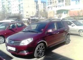 Отзыв об автомобиле Geely MK  (Джили МК), 1,5-L, седан, МКПП, 2012 г.в.