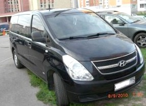 Отзыв об автомобиле Хендай Х-1 (Hyundai H1), 2,5-L , минивэн, МКПП, 4WD, 2010 г.в.