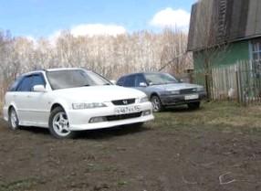 Отзыв об автомобиле Honda Accord (Хонда Аккорд ), 2,3-L F23A, универсал, АКПП, 1997 г.в.