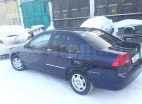 Отзыв об автомобиле Honda Civik  (Хонда Цивик), 1,6-L, седан, АКПП,  2003 г.в.