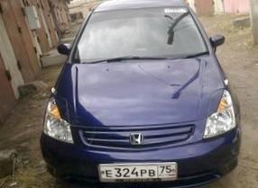 Отзыв об автомобиле Honda Stream (Хонда Стрим), 2,0-L K20A, минивэн, АКПП, 2001 г.в.