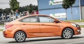 Отзыв об автомобиле Hyundai SOLARIS (Хендай Солярис ), 1,6-L , седан, АКПП,  2011 г.в..