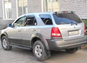 Отзыв об автомобиле KIA Sorento (КИА Соренто), 2,5-L CRDi, внедорожник,  АКПП, 2003 г.в.