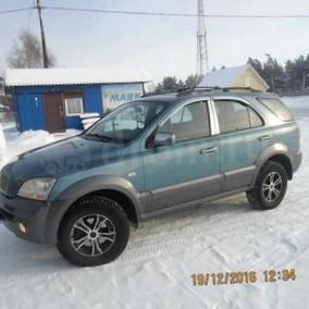 Отзыв об автомобиле KIA Sorento (КИА Соренто), 2,5-L CRDi, 4WD , внедорожник,  АКПП, 2002 г.в.
